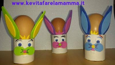 Coniglietti portauova per Pasqua