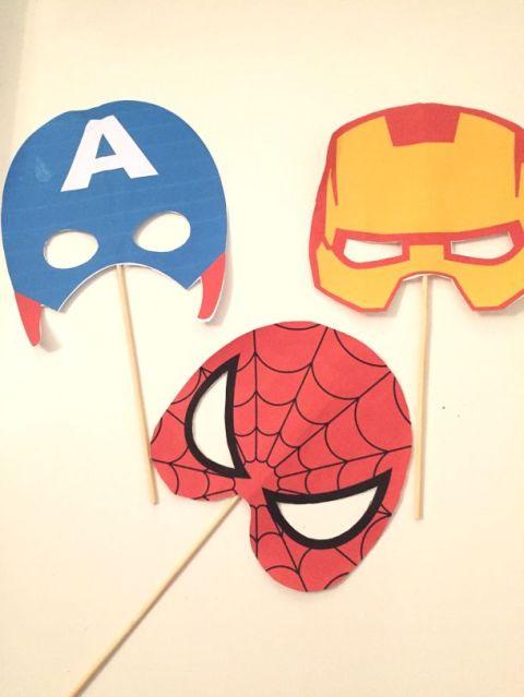 Festa Spiderman: maschere da supereroi da scaricare gratuitamente