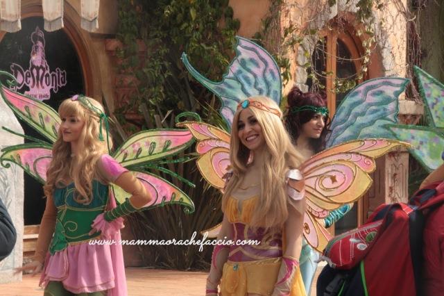 Rainbow Magicland: spettacolo delle Winx
