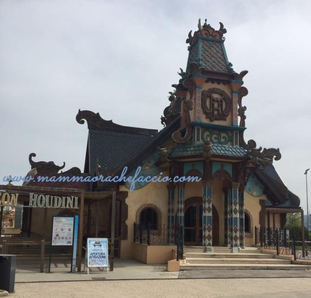 Rainbow Magicland: casa maison Houdini