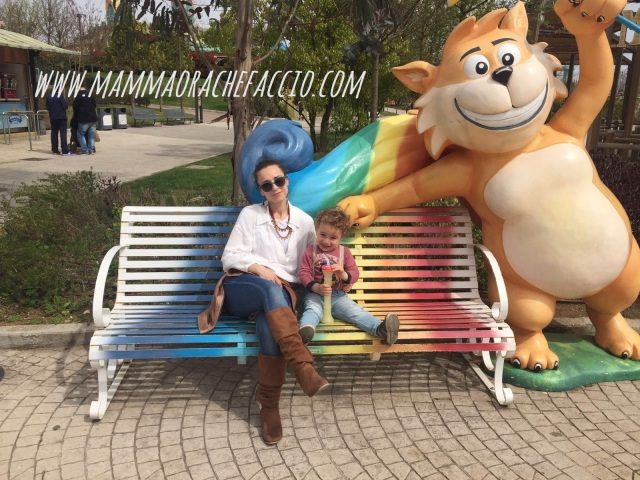 Rainbow Magicland: mascotte Gattobaleno