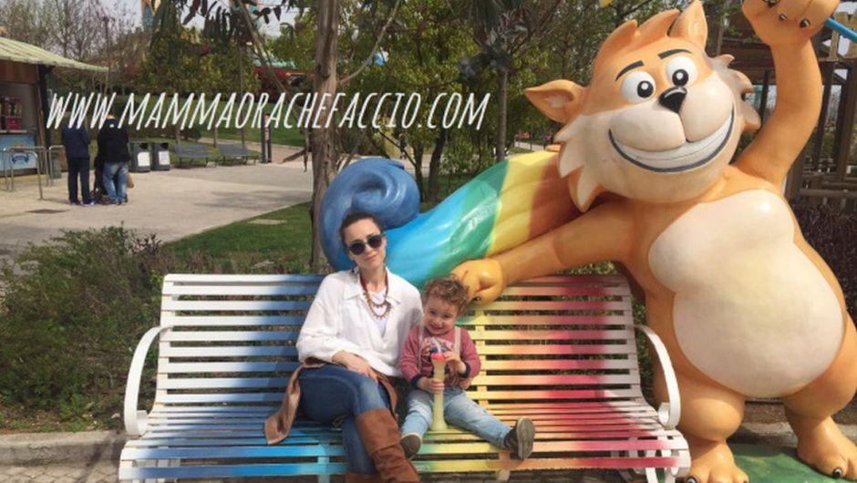 Rainbow Magicland con bambini piccoli