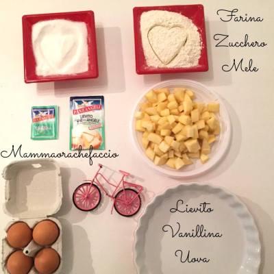 Torta di mele senza burro ingredienti e ricetta