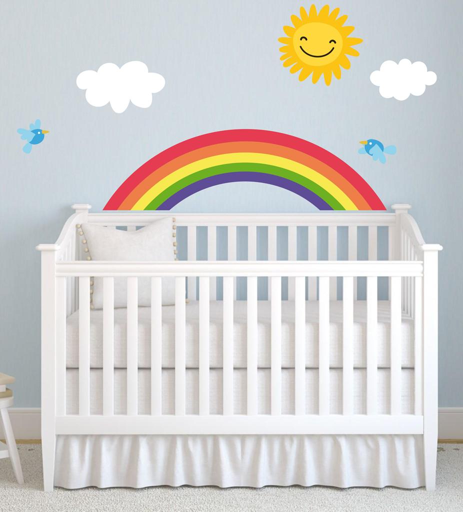 Adesivi per pareti camerette decorazioni pareti stickers - Murales cameretta bimbi ...