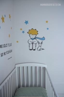 sticker da muro Piccolo Principe