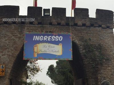 Castello di Lunghezza Casa di Babbo Natale Roma