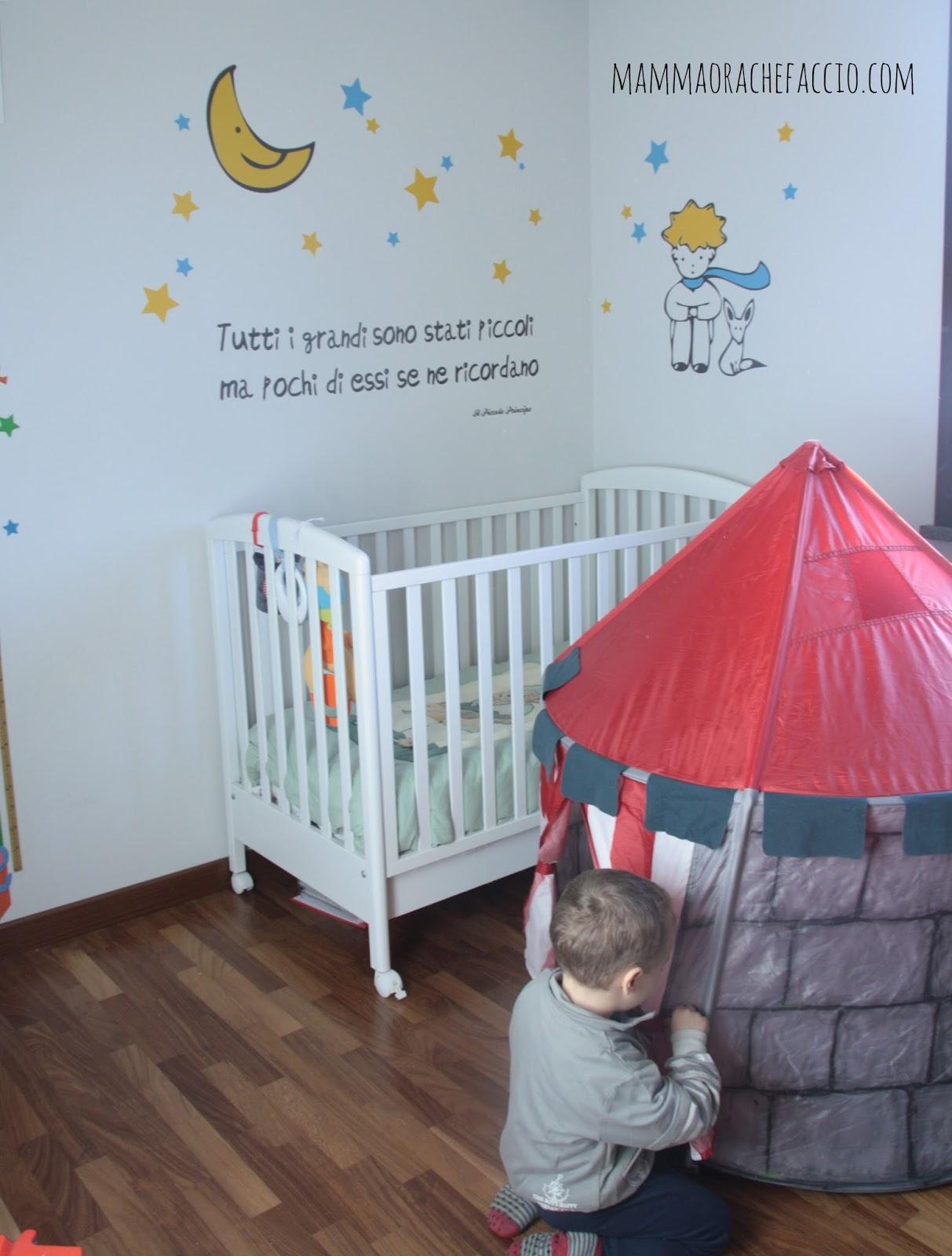 Adesivi da muro per la cameretta dei bambini la nostra - Adesivi camera bambini ...