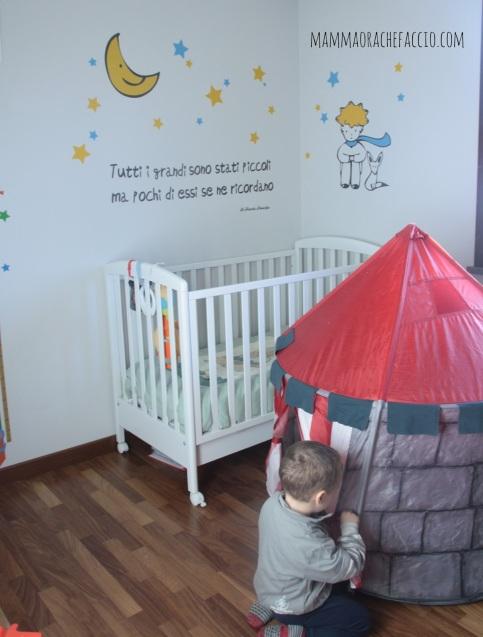 sticker da muro per cameretta dei bambini: Piccolo Principe