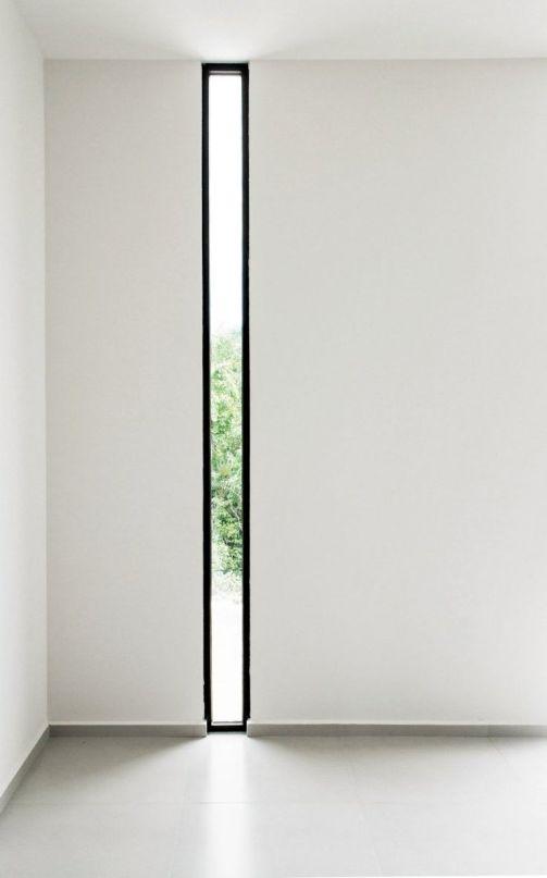 finestre alte e strette