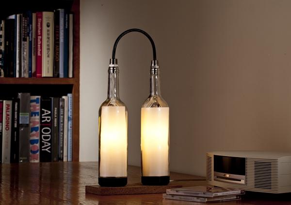 idee green per la casa lampada fai da te