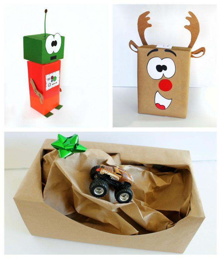 pacchetti regalo natale idee bambini