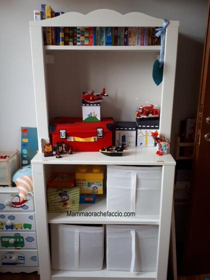 idee per sistemare i giocattoli dopo Natale